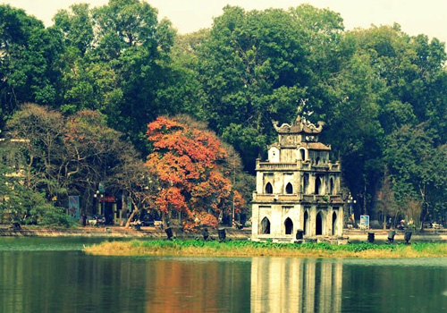 Hanoi (Vietnam)  fall into the list of attractive tourist destinations on the world